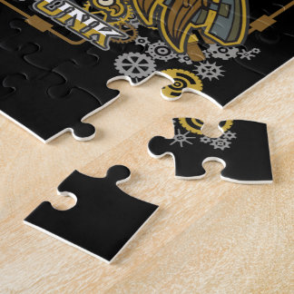 Steampunk Mechanical Owl Jigsaw Puzzle