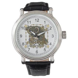 Steampunk Mechanical Owl Watch
