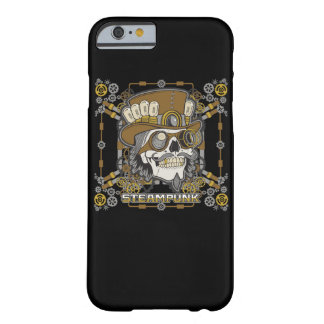 Steampunk Mechanical Skull Barely There iPhone 6 Case