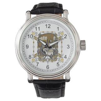 Steampunk Mechanical Skull Watch