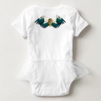 Steampunk Mechanical Wings Baby Bodysuit