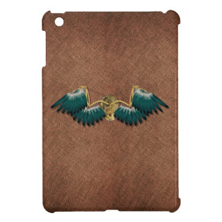 Steampunk Mechanical Wings Brown Case For The iPad Mini