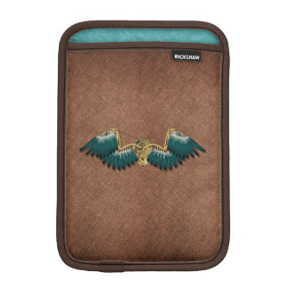 Steampunk Mechanical Wings Brown iPad Mini Sleeve