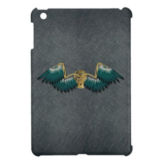 Steampunk Mechanical Wings Grey iPad Mini Cover