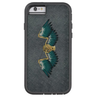 Steampunk Mechanical Wings Grey Tough Xtreme iPhone 6 Case