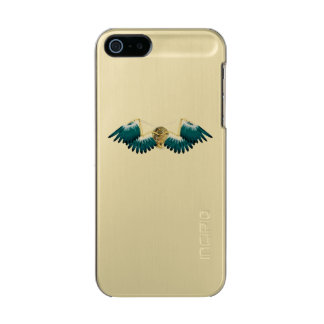 Steampunk Mechanical Wings Incipio Feather® Shine iPhone 5 Case