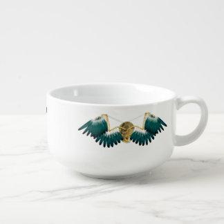 Steampunk Mechanical Wings Soup Mug