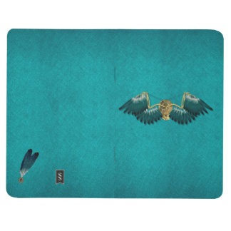 Steampunk Mechanical Wings Teal Journal