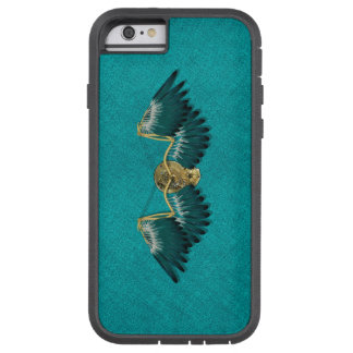 Steampunk Mechanical Wings Teal Tough Xtreme iPhone 6 Case