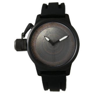 Steampunk Moon Clock Time Metal Gears Wrist Watch