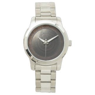 Steampunk Moon Clock Time Metal Gears Wristwatch