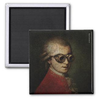 Steampunk Mozart Magnet