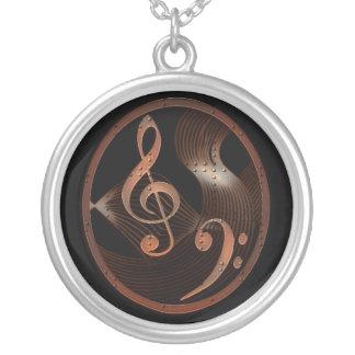 Steampunk Music Design Necklace