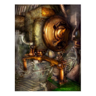 Steampunk - Naval - Shut the valve Postcard
