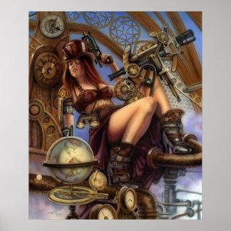 Steampunk Navigator Poster! Poster