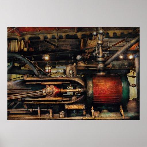 Steampunk - No 8431 Poster
