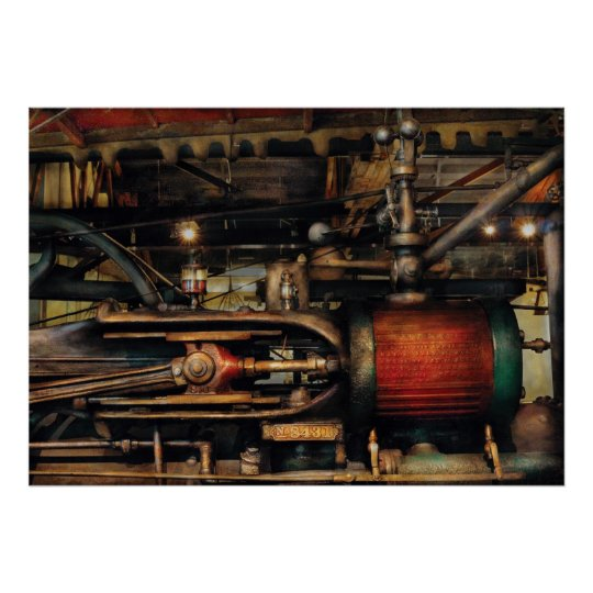 Steampunk - No 8431 Poster