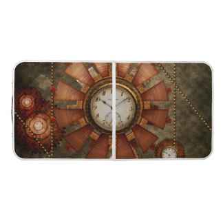 Steampunk, noble design pong table
