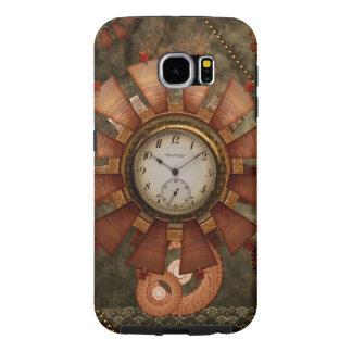 Steampunk, noble design samsung galaxy s6 cases