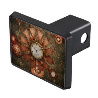 Steampunk, noble design trailer hitch cover