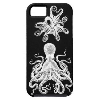 Steampunk Octopus Kraken Black iphone5 Victorian iPhone 5 Case
