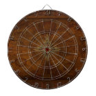 Steampunk Old World Map & Compass Rose Design Dartboard