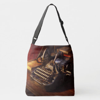 Steampunk - Oliver's typing machine Crossbody Bag