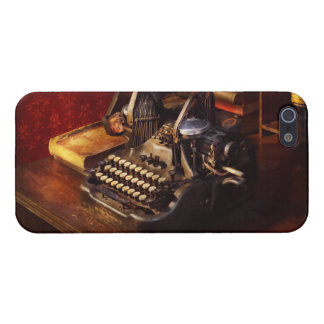 Steampunk - Oliver's typing machine iPhone 5 Cases
