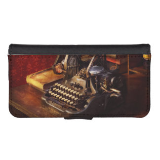 Steampunk - Oliver's typing machine iPhone SE/5/5s Wallet Case
