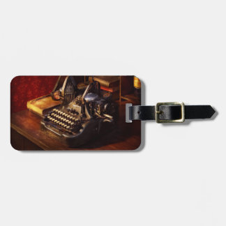 Steampunk - Oliver's typing machine Luggage Tag