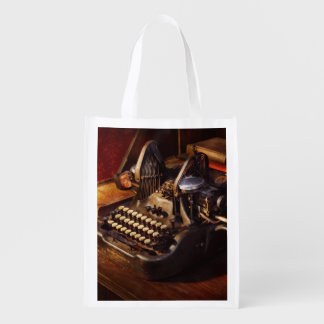 Steampunk - Oliver's typing machine Market Totes