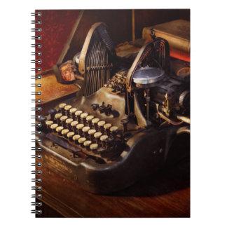 Steampunk - Oliver's typing machine Note Books