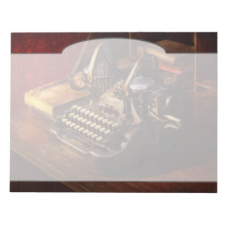 Steampunk - Oliver's typing machine Notepads