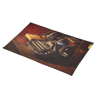 Steampunk - Oliver's typing machine Placemat