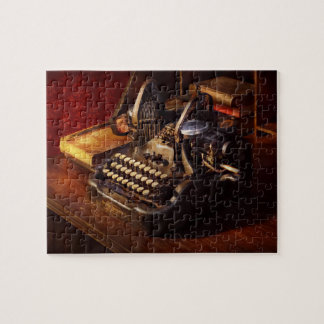 Steampunk - Oliver's typing machine Puzzles