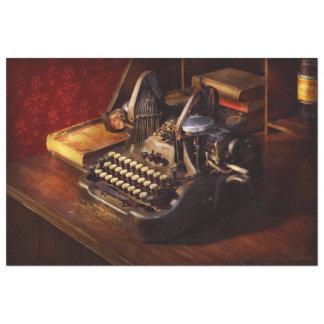 Steampunk - Oliver's typing machine Tissue Paper