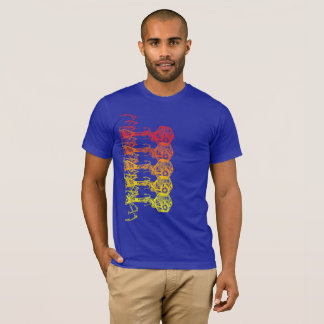 Steampunk_Phage in Living Color T-Shirt