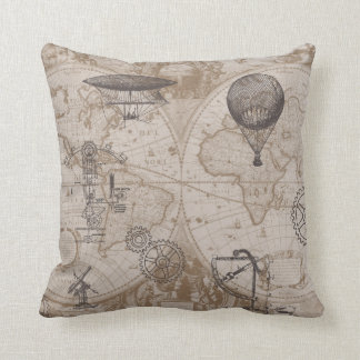Steampunk pillow