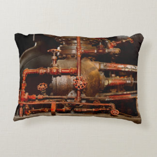 Steampunk - Pipe dreams Accent Pillow
