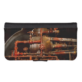 Steampunk - Pipe dreams iPhone SE/5/5s Wallet Case