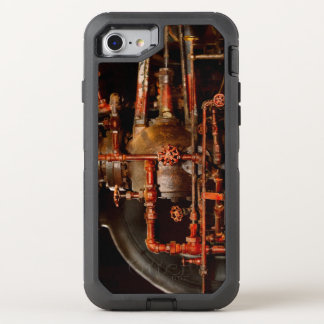 Steampunk - Pipe dreams OtterBox Defender iPhone 8/7 Case