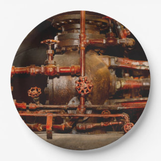 Steampunk - Pipe dreams Paper Plate