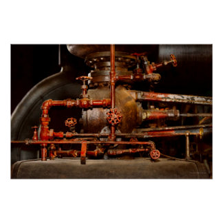 Steampunk - Pipe dreams Poster