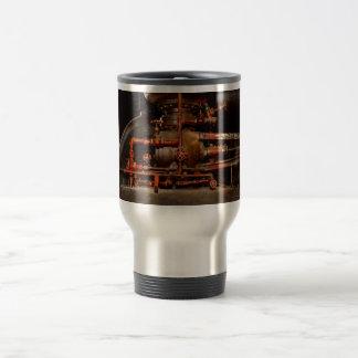 Steampunk - Pipe dreams Travel Mug