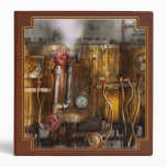 Steampunk - Plumbing - Distilation apparatus Vinyl Binders