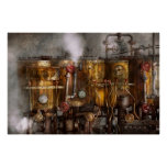 Steampunk - Plumbing - Distilation apparatus Poster