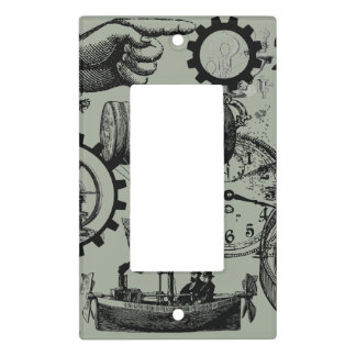 Steampunk Pointing Finger Light Switch Cover