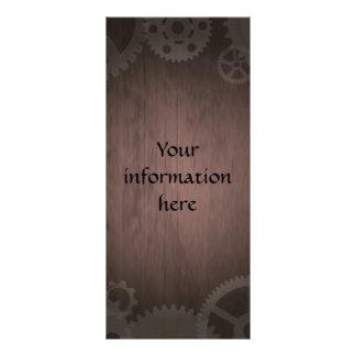 Steampunk rack cards