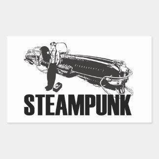 Steampunk Rectangular Stickers