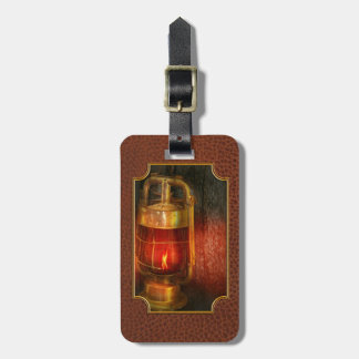Steampunk - Red light district Luggage Tag